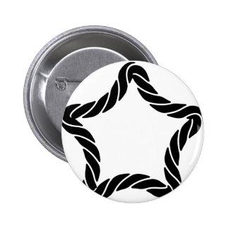 Star Roper Border Button