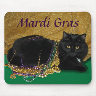 Star s Mardi Gras Mousepad