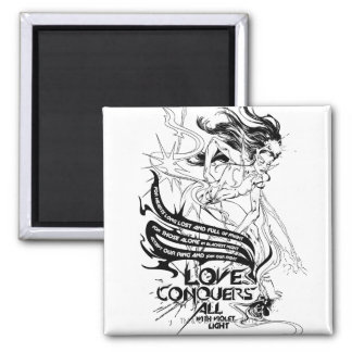 Star Sapphire Graphic 5 2 Inch Square Magnet