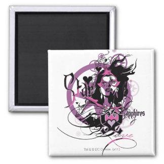Star Sapphire Graphic 6 Magnet