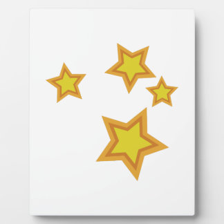 Star Scene Plaque