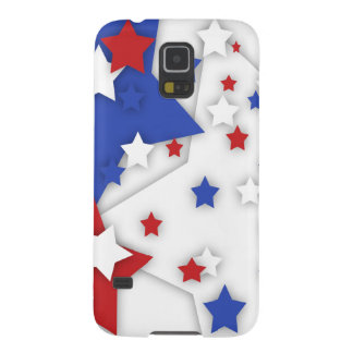 Star Shadow Bright Red White Blue Galaxy S5 Case For Galaxy S5