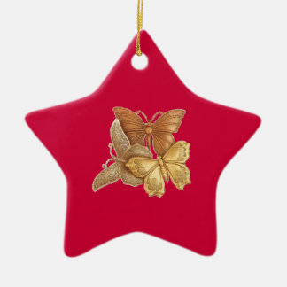 Star Shape butterfly ornament