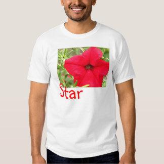 Star Shaped Petunia T-Shirt