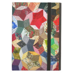 Star Shaped Quilt Ipad Case at Zazzle
