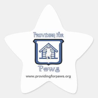 Star Shaped Sticker