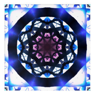 Star Shapes Mandala Acrylic Wall Art