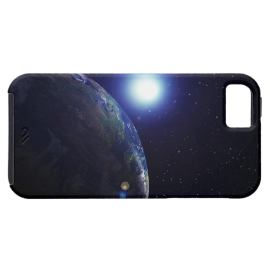 Star shining on Earth iPhone SE/5/5s Case