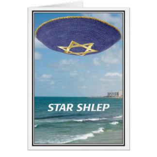 Star Shlep Jewish Birthday Card
