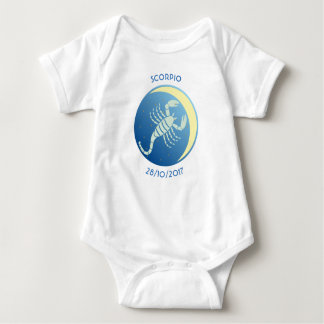 Star Sign Baby Vest Scorpio Baby Bodysuit