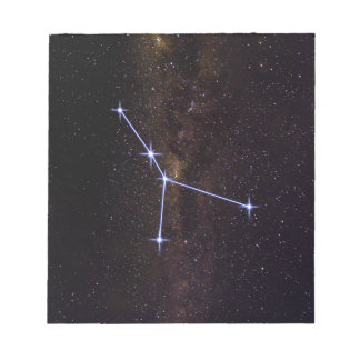 Star Sign Cancer Notepad