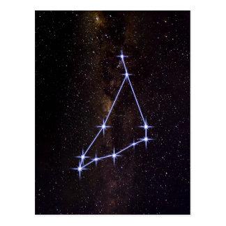 Star Sign Capricorn Postcard