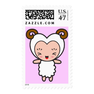 Star Sign Character - Aries Postage