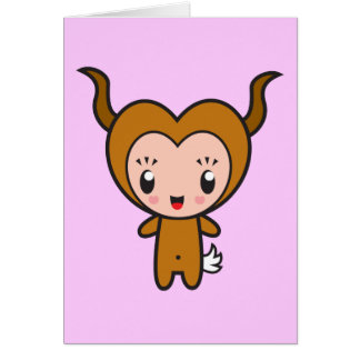 Star Sign Character - Capricorn Card