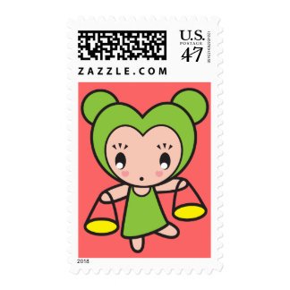 Star Sign Character - Libra Postage