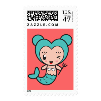 Star Sign Character - Pisces Postage
