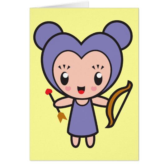 Star Sign Character - Sagittarius Card