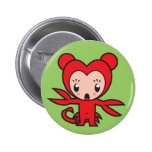 Star Sign Character - Scorpio 2 Inch Round Button