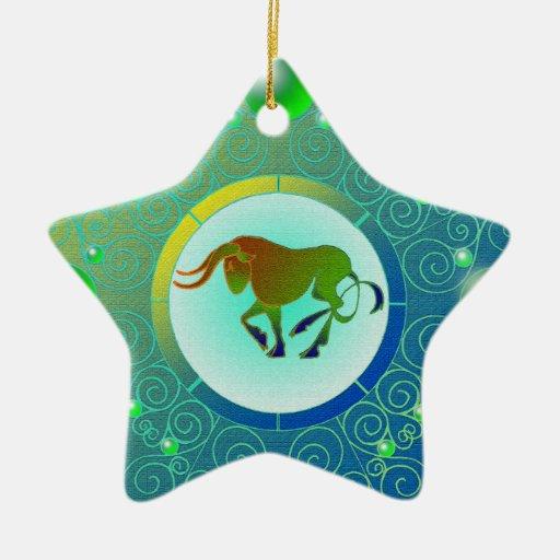 Star Sign Ornament Taurus