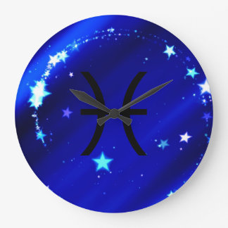 Star Sign: Pisces Wall Clock