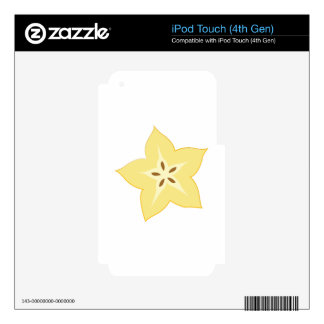 Star iPod Touch 4G Skins