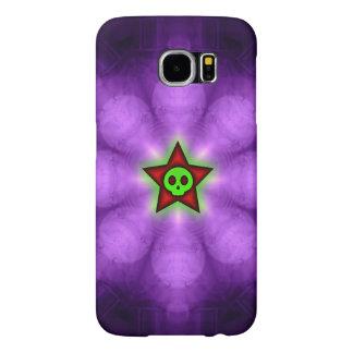 Star Skull Purple Samsung Galaxy S6 Case