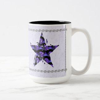 Star Skulls Two-Tone Coffee Mug