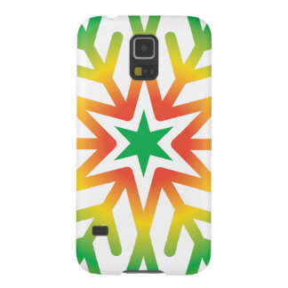 Star Snowflake Case For Galaxy S5