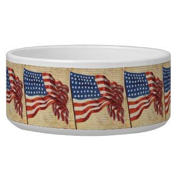 USA Themed Star Spangled Banner Bowl