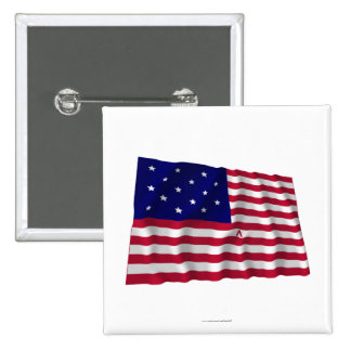 Star Spangled Banner Pinback Button