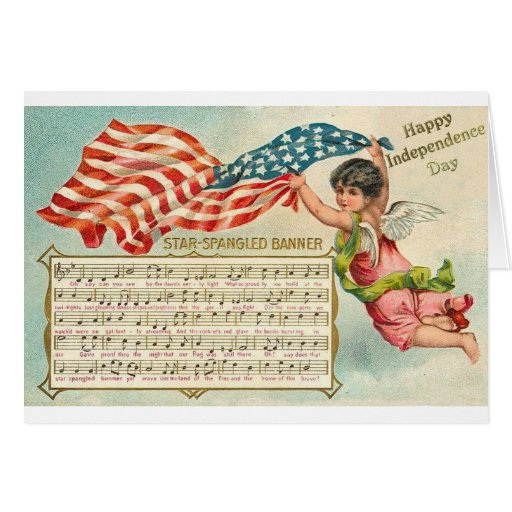 Star Spangled Banner Card