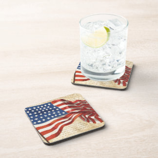 Star Spangled Banner Drink Coaster
