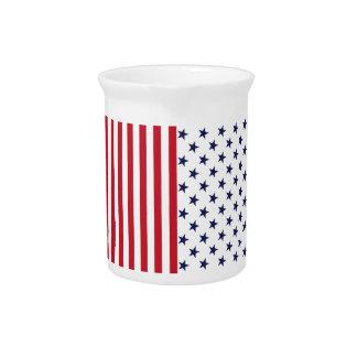 Star-Spangled Banner Drink Pitcher