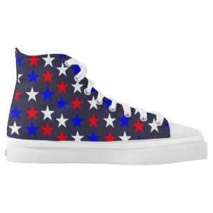 18f304846626a5 Star Spangled Banner High-Top Sneakers