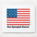 Star Spangled Banner Mouse Mats