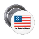 Star Spangled Banner Pinback Button