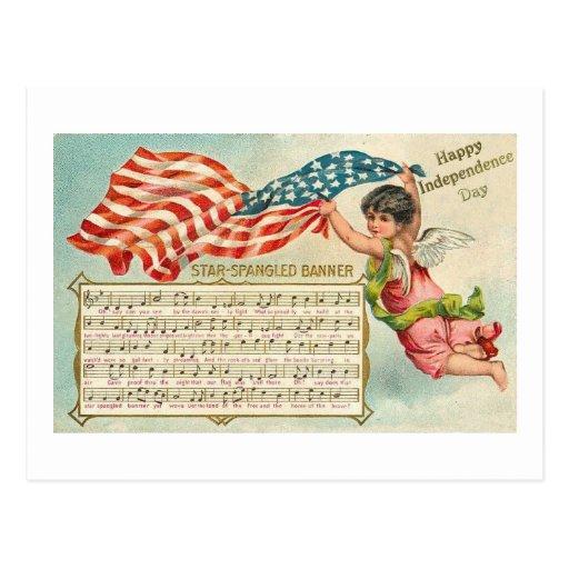 Star Spangled Banner Postcard