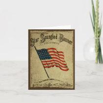 Star Spangled Banner- Prim Lil Note Cards