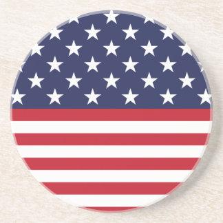 Star-Spangled Banner Sandstone Coaster