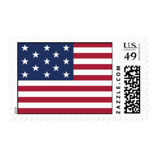 Star Spangled Banner With 13 Stars Postage