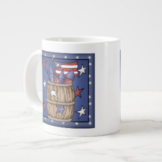 Star Spangled Barrel Giant Coffee Mug