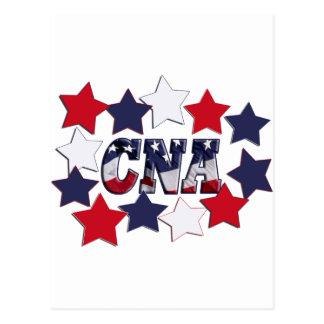 STAR SPANGLED CNA - CERTIFIED NURSE ASSISTANT POSTCARD