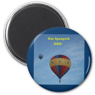 Star Spangled Dad, more stuff! Refrigerator Magnet
