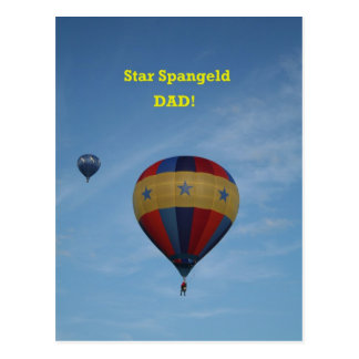 Star Spangled Dad, more stuff! Postcard