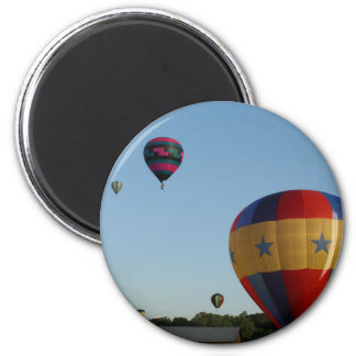 Star spangled flying machines, xlta 2 inch round magnet