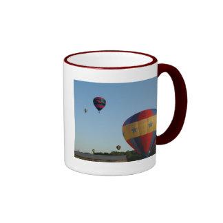 Star spangled flying machines, xlta ringer coffee mug