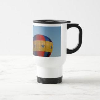 Star spangled flying machines, xlta 15 oz stainless steel travel mug