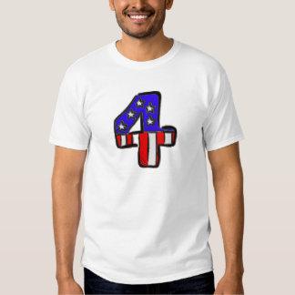 Star Spangled Four Tee Shirt