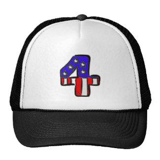 Star Spangled Four Trucker Hat