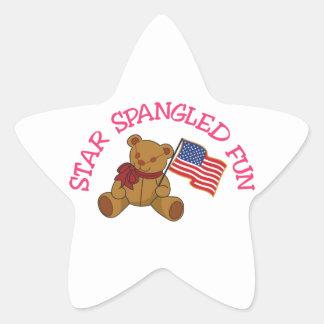 Star Spangled Fun Star Sticker
